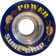 Power Dark Blue 62mm Roller Derby Skate Wheels