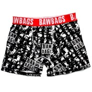 Bawbags Monkey Black Boxer Shorts