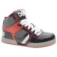 NYC 83 Kids Black/Grey/Red Shoe