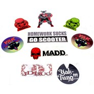 Assorted Scooter Sticker Pack