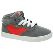 Motley Mid Kids Charcoal/Red Shoe