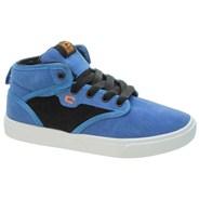 Motley Mid Kids Colony Blue/Black/Orange Shoe