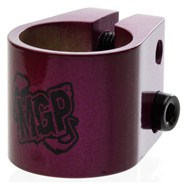 MGP Double Collar Scooter Clamp - Purple
