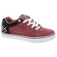 Square One Maroon/Black/White Kids Shoe