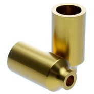 Gold Canista Alloy Scooter Pegs