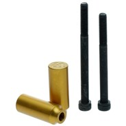 Scooter Grind Stunt Pegs - Gold