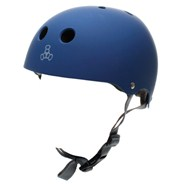 Dual Certified (FKA Brainsaver) Helmet - Blue Matte