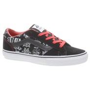 La Cripta Dos OTWRAP Black/Red Kids Shoe F76LCU