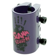 Quad Collar Clamp - Purple