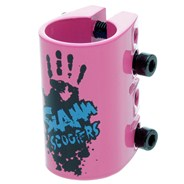 Quad Collar Clamp - Pink