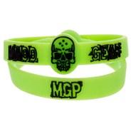 Green Rubber Wristband