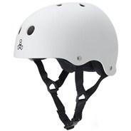 Dual Certified (FKA Brainsaver) Helmet - White Matte