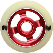 Stormer 4 Spoke Aluminium Hub Scooter Wheel - Red