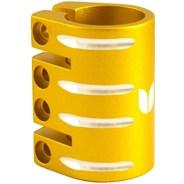Quad Collar Scooter Clamp - Gold  (inc Shim)
