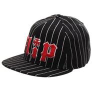 HKD Pinstripe Black Flexfit Cap