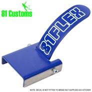 Stainless Scooter Flex Brake Kit - Blue