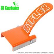 Stainless Scooter Flex Brake Kit - Orange