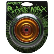 Black Max Gold Aluminium Hub Scooter Wheel with Bearing