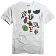 Patchwork S/S T-Shirt - White