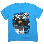 Only Above and Beyond Kids S/S T-Shirt - Electric Blue
