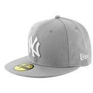 MLB Basic NY Yankees New Era Cap - Grey/White