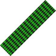 Diamonds Black/Green Skateboard Griptape
