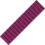Diamonds Black/Pink Skateboard Griptape