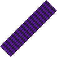 Diamonds Black/Purple Skateboard Griptape