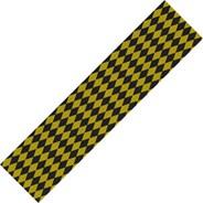 Diamonds Black/Yellow Skateboard Griptape