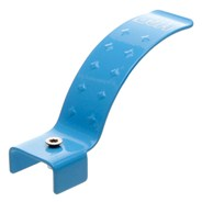 Stainless Scooter Single Hole Flex Brake Kit 100mm - Blue