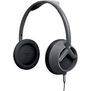 The Trooper Silver/Black Headphones