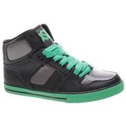 NYC 83 VLC Kids Black/Gun/Green Shoe