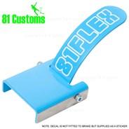 Stainless Scooter Flex Brake Kit - Sky Blue