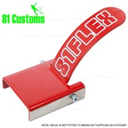 Stainless Scooter Flex Brake Kit - Red