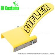 Stainless Scooter Flex Brake Kit - Yellow