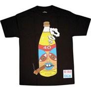 40s & Blunts Black S/S T-Shirt