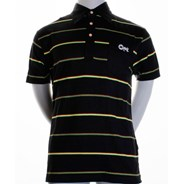 Rasta Stripe S/S Polo Shirt
