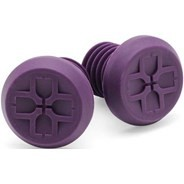 BMX/Scooter Custom Bar End Plugs - Purple
