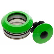 Internal 45/45 Headset Bearings - Neon Green