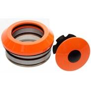 Internal 45/45 Headset Bearings - Neon Orange