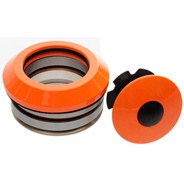 Internal 45/45 Headset Bearings - Neon Orange