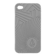Spiral Op iPhone 4 Case - Pewter