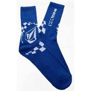 Moto Stone Socks - Blue