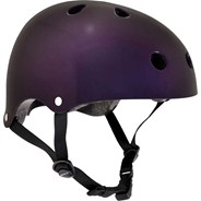Essentials Metallic Purple Helmet