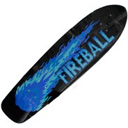 Fireball Mini Longboard Deck
