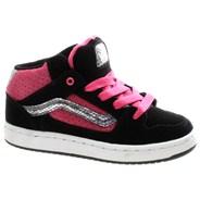 Kaylyn Mid Kids Black/Pink/White Shoe INMBP8