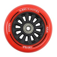 Nylon Core 100mm Scooter Wheel and Bearings - Red