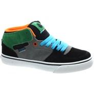 Torey FA3 Black/Grey/Green Suede Kids Shoe