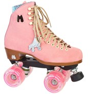 Lolly Quad Roller Skates - Strawberry
