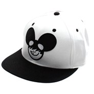 Icon Snapback Cap - White